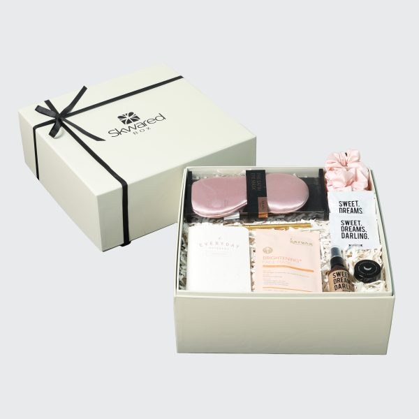 Gift box with sweet dreams products