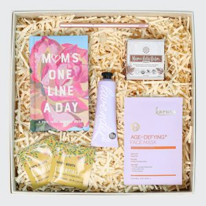Gift box with mum products