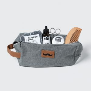 Gift box with beard products
