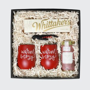 Gift box with mulled wine products