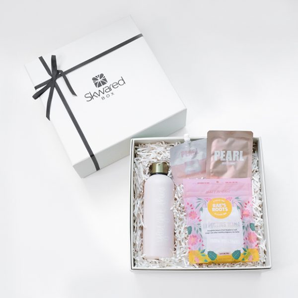 Gift box with mom products